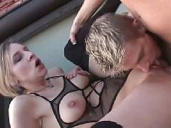 Bi curious blondie Bianca Ferrero and a bisexual couple went for steamy threesome in this porn scene. Lingerie clad Bianca got all of her holes dicked. She goes down on all fours and gets her cooter fucked while giving the other bi hottie a dose of h